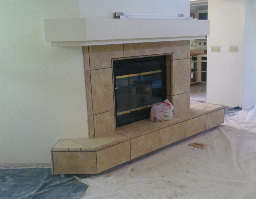 Custom Fireplace 2